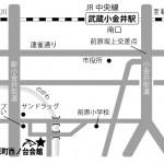 3西之台会館MAP